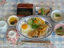 朝食:朝もしっかり食べて元気よく遊ぼう!