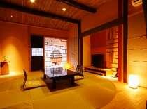 遊び心たっぷりの中にも温かみあふれるお部屋の一例。(お部屋の指定はできませんのでご了承くださいませ)