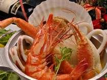 .冬季限定の当店1押しのメニュー。魚介と濃厚トマトベーススープが良く合います。