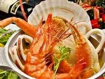 <期間限定メニュー>海の幸を贅沢に!!魚介の旨みがぎゅ~っと詰ったあったかブイヤベース♪