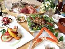 1番人気のスタンダードコース。海の幸とメインのカルアポークをお楽しみ下さい♪