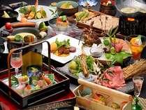 彩り豊かな夕食 一例