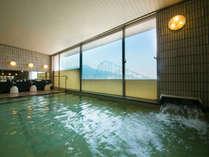 【八幡ひまわり温泉】温泉で、旅の疲れをゆっくりと癒していただけます。
