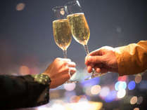 カップル【じゃらん限定】◆粋な夜にシャンパンで乾杯◆Royal Sparkling Night☆ポイントUP≪朝食付き≫