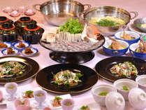 【季節の味覚】めでたい春は「鯛のしゃぶしゃぶ会席」を堪能♪≪夕朝食付≫