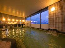 ■八幡ひまわり温泉:夜は24時まで、朝は5時からご利用できます!