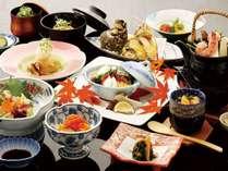 ■松茸ざんまい会席&さざえ唐揚げ食べ放題:秋の一押し会席です!