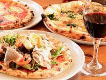 【ピザ】「友悠ゆうゆう」自慢の手作りピザを楽しみませんか。