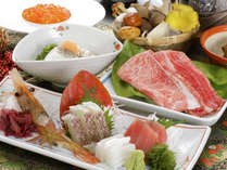 お米から旬菜までこだわりの食材をふんだんに。※写真はイメージでございます。