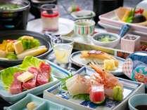 【基本会席】―料理長が魅せる「季節の美味」― 美味しさに、ひと手間ひと手間こだわりました