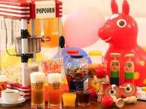 WBF会員登録で17時~21時ラウンジサービス生ビール、ソフトドリンク、お菓子に昭和の玩具も(セルフサービス
