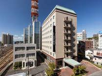 【外観】駅から徒歩1分・JR水戸駅北口より徒歩1分。JR水戸駅北口より徒歩1分。閑静な立地です。