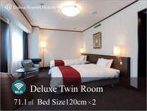 デラックスツインルーム 当ホテルが最もオススメするお部屋お電話にてお問い合わせくださいませ。