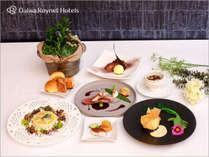 季節の洋食フルコースディナーのイメージ(季節によりメニュー内容がことなります)