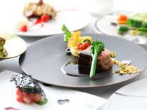 和歌山地産食材の夕食コース ※写真はイメージです。
