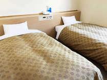★ツインルーム★ベッドが2台、観光旅行に最適♪