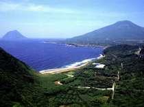 八丈島の西海岸