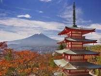 新倉山の紅葉