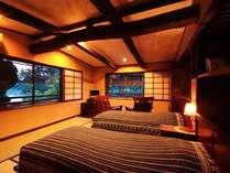 ・天橋立や回旋橋を目の前に眺める和のベッドルーム