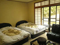 *洋室一例/ベッドでぐっすりとご就寝いただけます