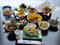 南信州のご馳走を本格的な会席料理で。春※お料理一例