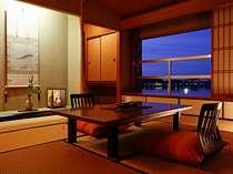 【ベストビュー特別室】限定3部屋♪目の前広がる景色をのんびり独り占め♪「柴山潟」を眺めるならここ!