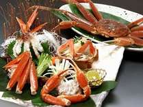 お一人様1杯の活蟹会席※イメージ蟹刺しをはじめ、焼かに・蟹すき鍋はお好みで召し上がれます♪