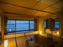 新館「月胡」最上階特別室601号室※パノラマビューに最適部屋※