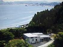 宿からは富山湾が一望できます。