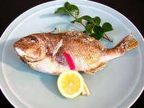 【記念日】鯛の塩焼きプレゼント!お祝いプラン(部屋食)
