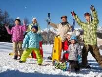 ◆2つのスキー場共通リフト券+レンタル3点◆【1日分】付プラン