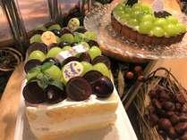 マロンスイーツフェア2019AW【旬果のショートケーキと旬果のタルト】