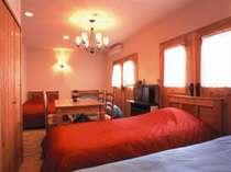 4ベッドの3号室はファミリーや女性グループに