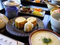 *朝食は天竜峡を望むお食事処でどうぞ♪(料理一例)