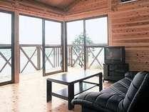 【平日限定★20%OFF】高台に建つ木造ロッジでステキな時間を★