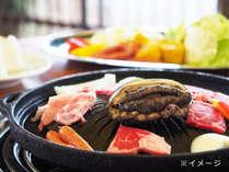 BBQ★オリーブ牛&アワビコース(イメージ)