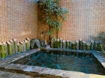 青竹の香りに包まれながらのお風呂は格別に癒されます。