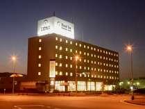 ホテル外観☆夜