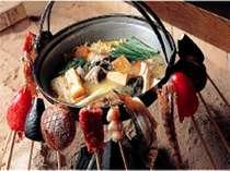 【夕食を重視の方へ】囲炉裏で夕食を♪1日限定10名様だけの囲炉裏会席★