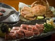 【北海道のご馳走たっぷり】〈毛蟹・タラバ蟹・ふらの和牛・お寿司〉北の贅沢プラン