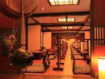 ご朝食は「千食庵」にて和食のバイキングをお楽しみください。