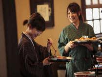 お食事処『仙食庵』~朝食「おふくろの味」田舎風和食バイキング~