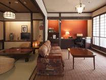 【ツイン(和室4.5畳+リビング)/627号室】寛ぎ空間が和室とソファの2つあるお部屋です