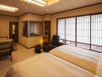 【7階特別フロア:温泉付デラックスツイン/721号室】温泉付のお部屋