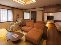 【7階特別フロア:温泉付デラックスツイン/703号室】温泉付のお部屋でゆっくり