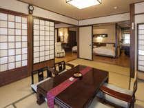 【愛犬305号室】和洋室2ベッド+和室9.5畳のお部屋