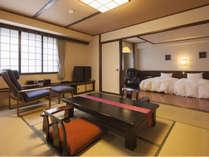 ふるさと和洋室 10畳+6畳 54平米■禁煙■