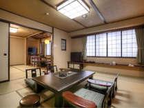 ふるさと和室二間 10畳+6畳 54平米■禁煙■
