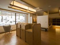 新大浴場:1階「地」の湯 脱衣所
