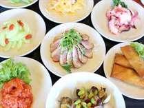 【1泊2食】夕食中国料理オーダーバイキング付満腹プラン